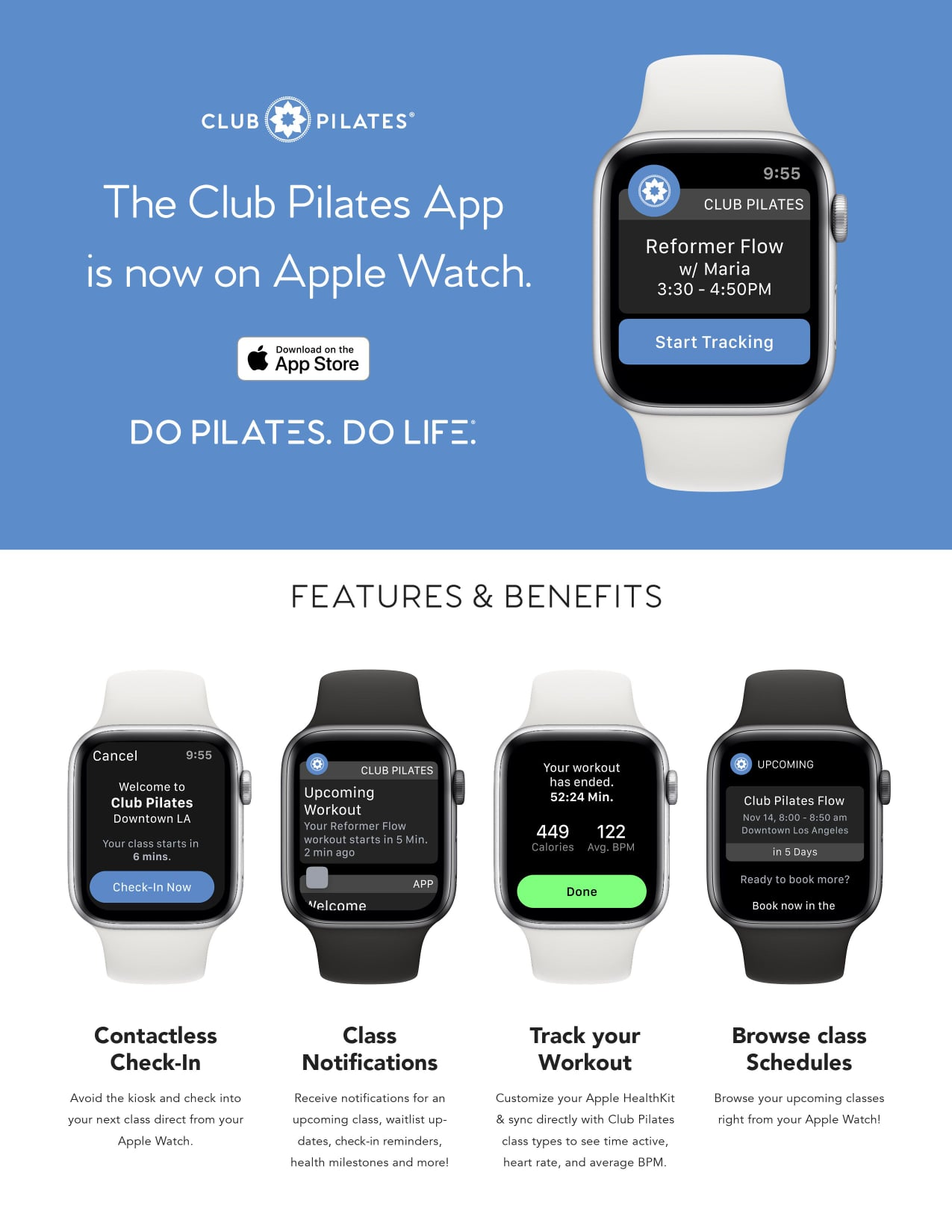 Club Pilates Launches Apple Watch Integration to Offer Enhanced Member Experience