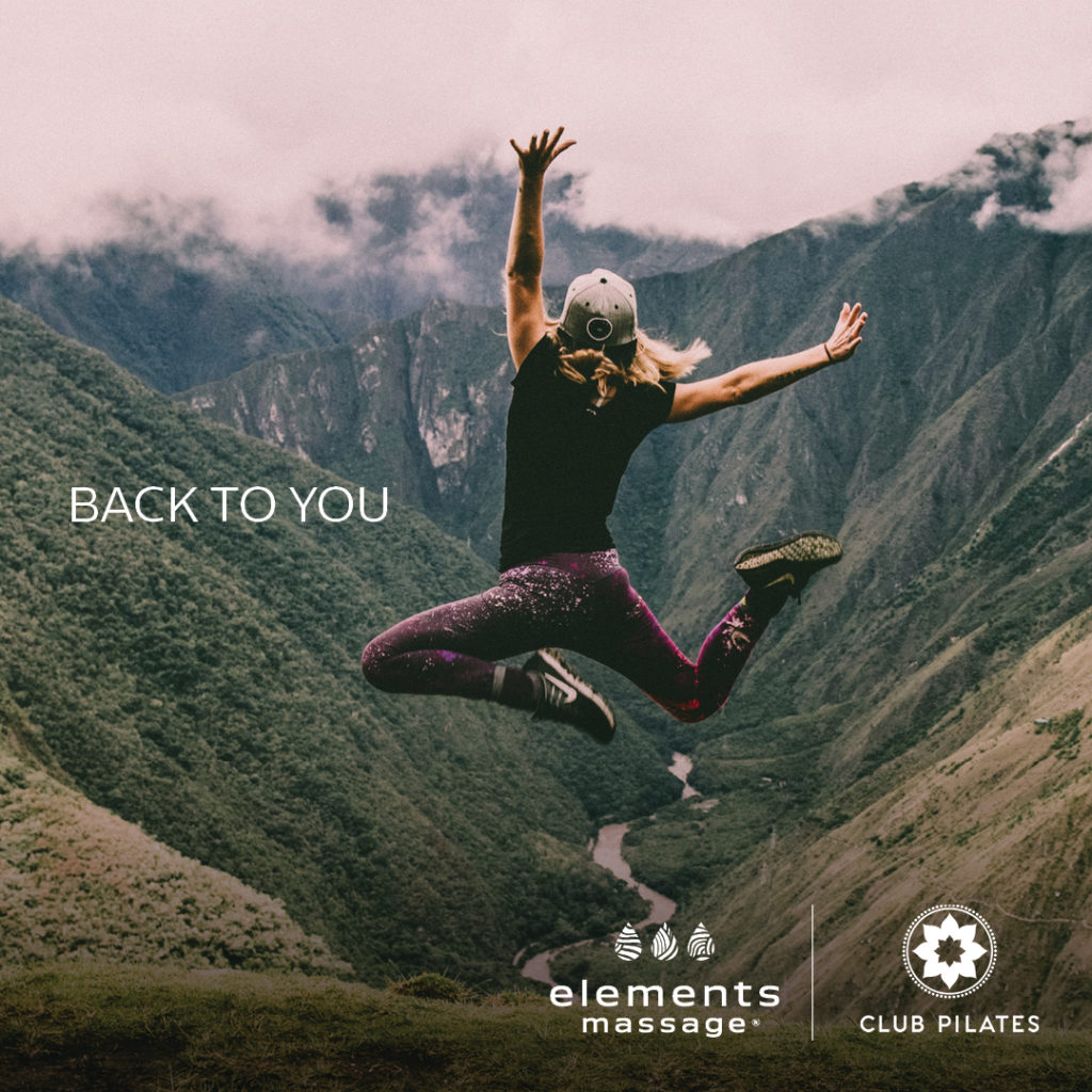 Club Pilates® Collaborates With Elements Massage® To Reinforce Self-Care