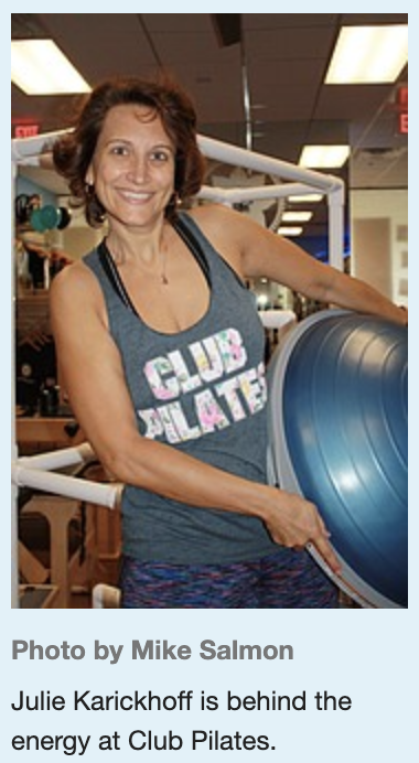Knee Rehab and Cardio Workouts Bring People Together at Club Pilates
