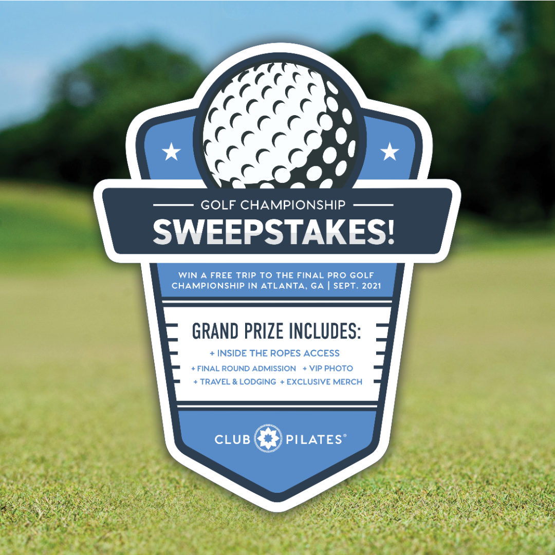 Club Pilates 'Tees Off' Men's Health Month With Golf Championship Sweepstakes