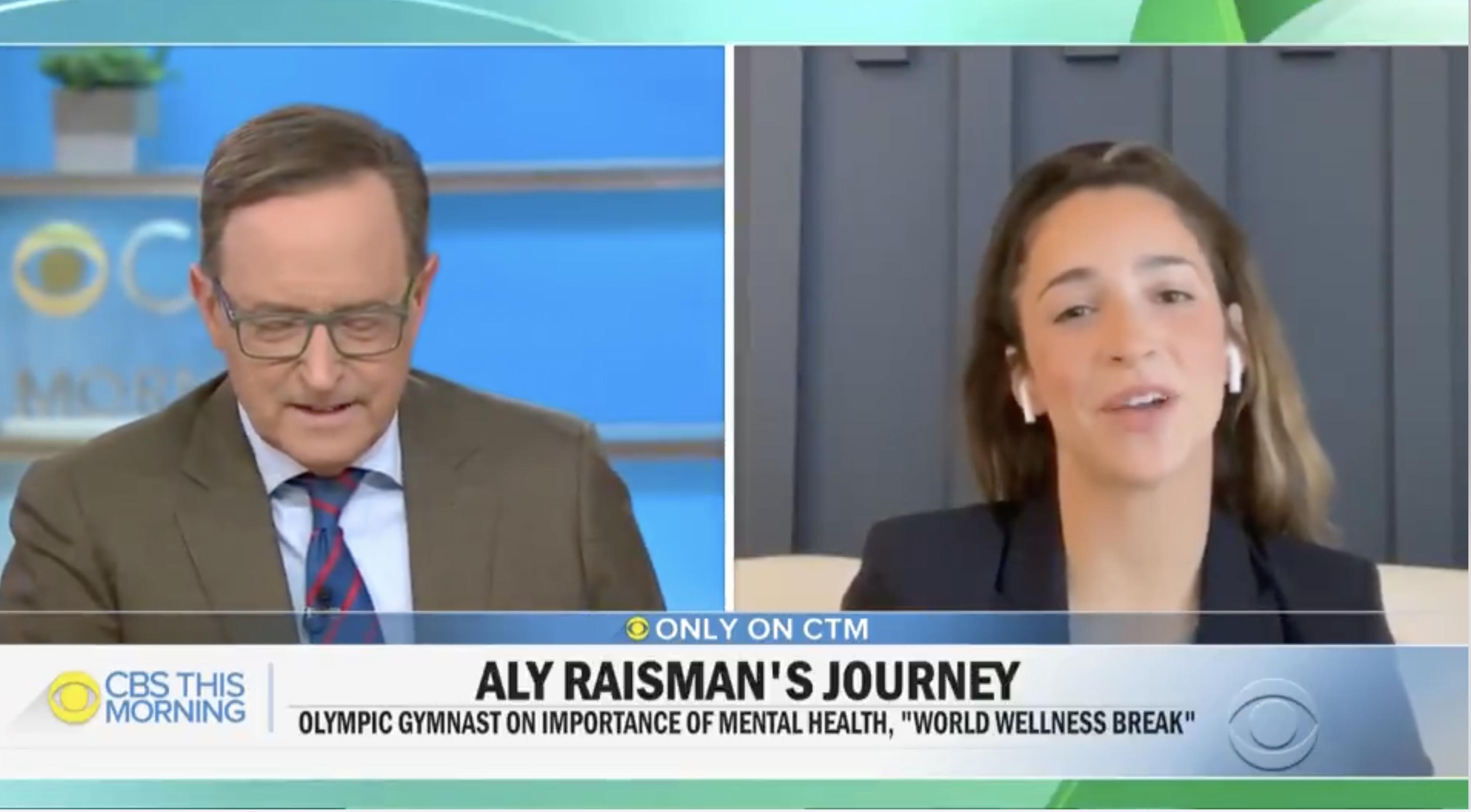 Gymnast Aly Raisman on Wellness Journey and Importance of Mental Health (Clone)